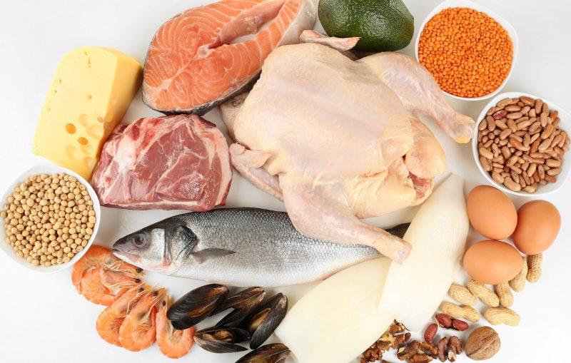 Продукты, содержащие белок, – таблица содержания животного и растительного