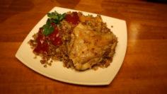 Куриные бедра с луком и специями в мультиварке - рецепт пошаговый с фото