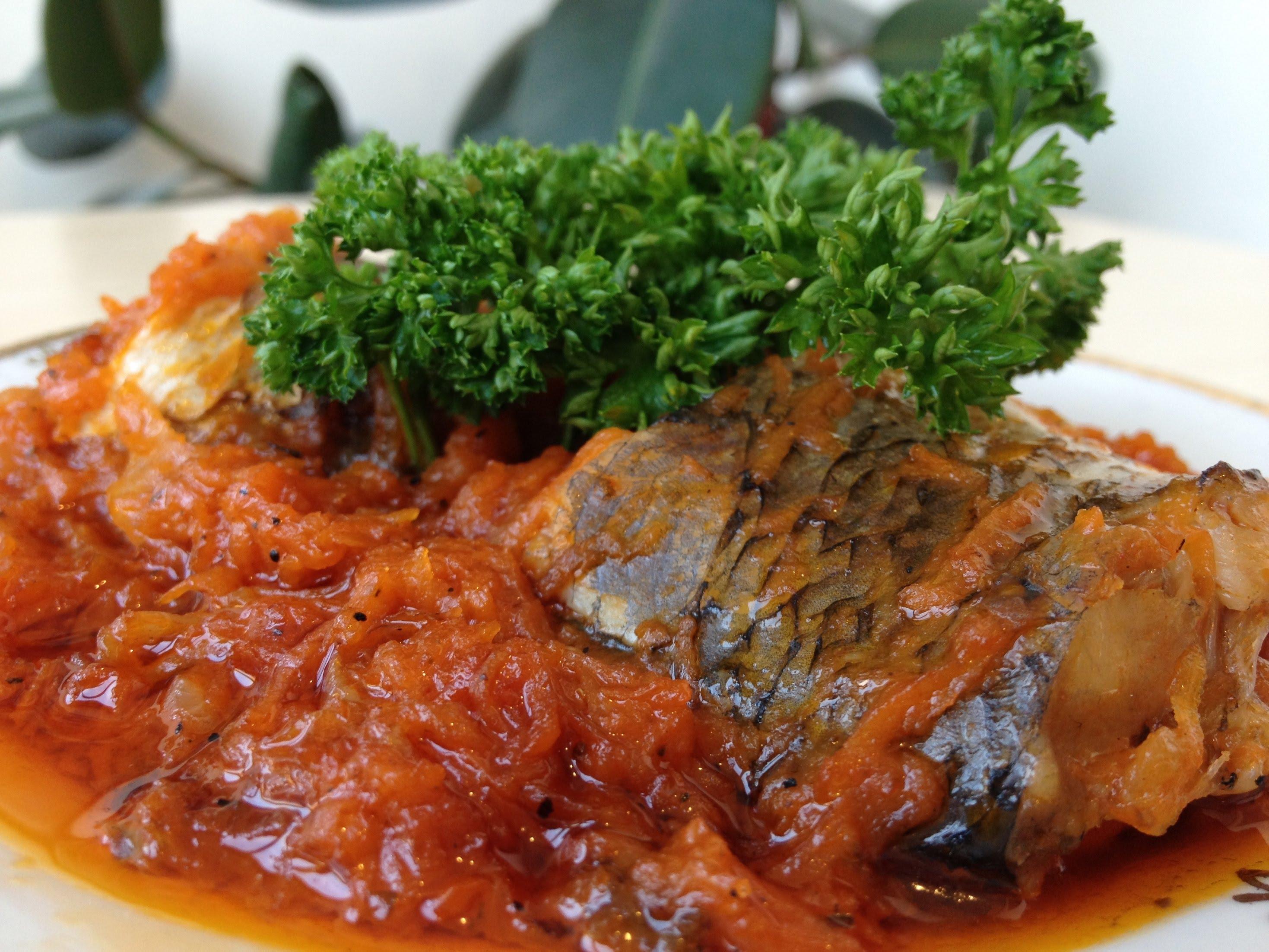 Пошаговое приготовление рыбы под томатным маринадом с фото