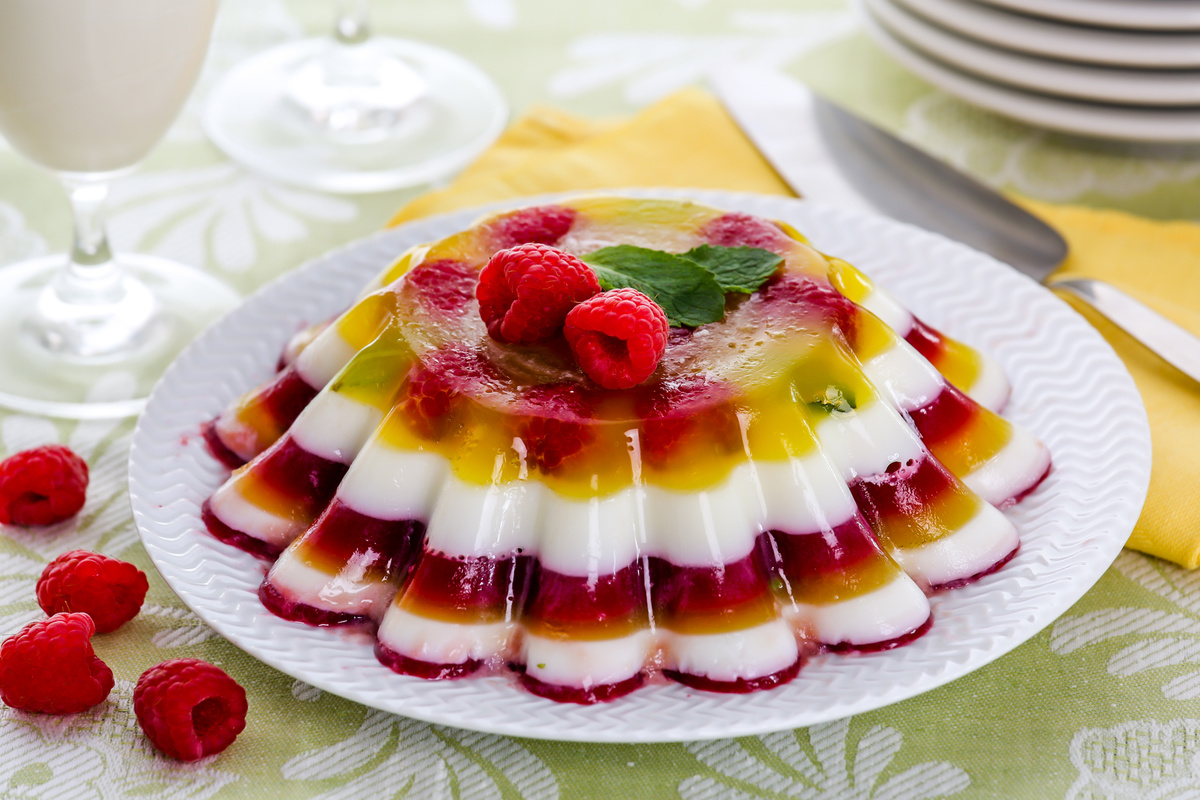 Фруктовое желе из желатина рецепт с фото пошагово
