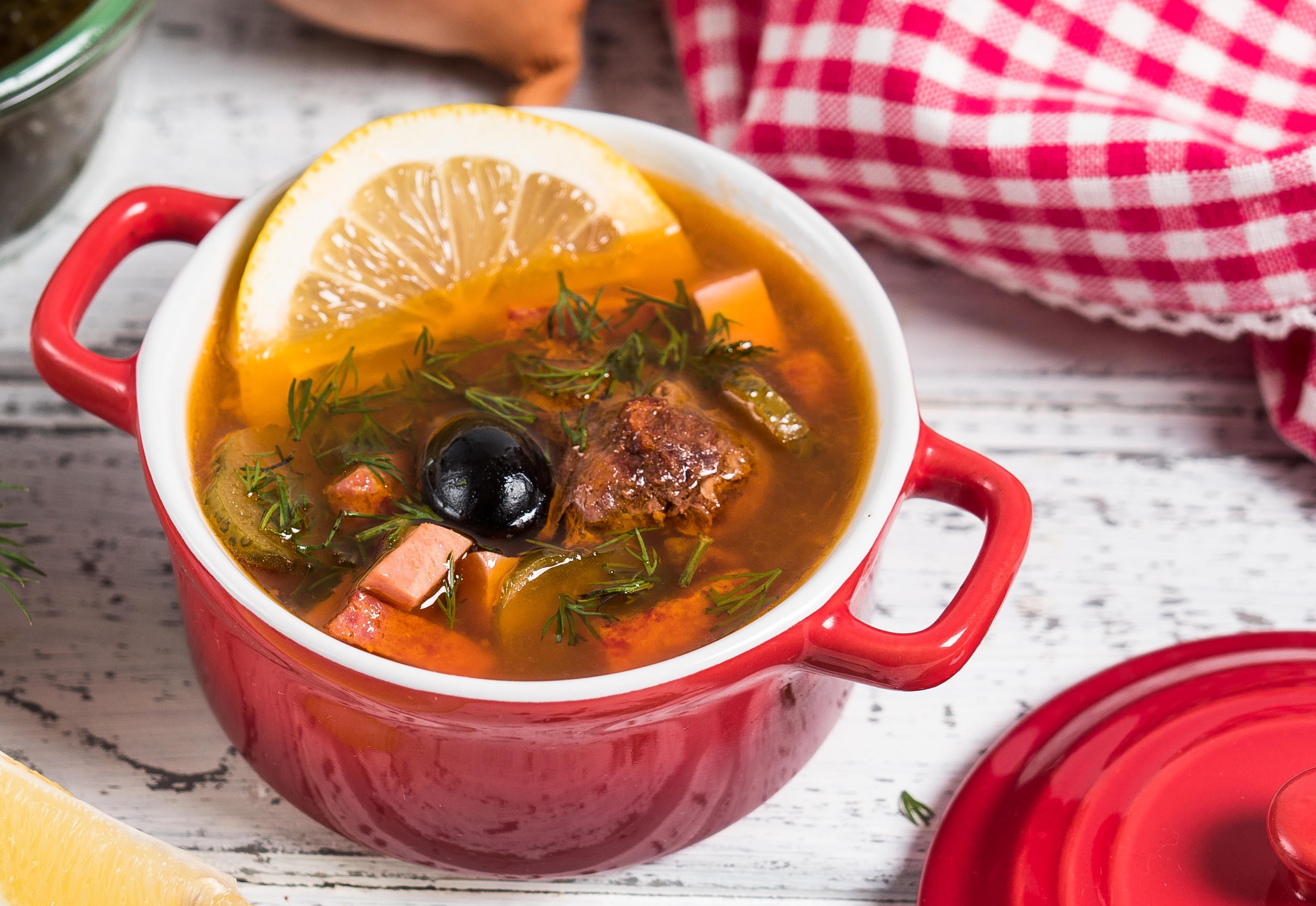 солянка сборная мясная настоящая рецепт с фото любисток