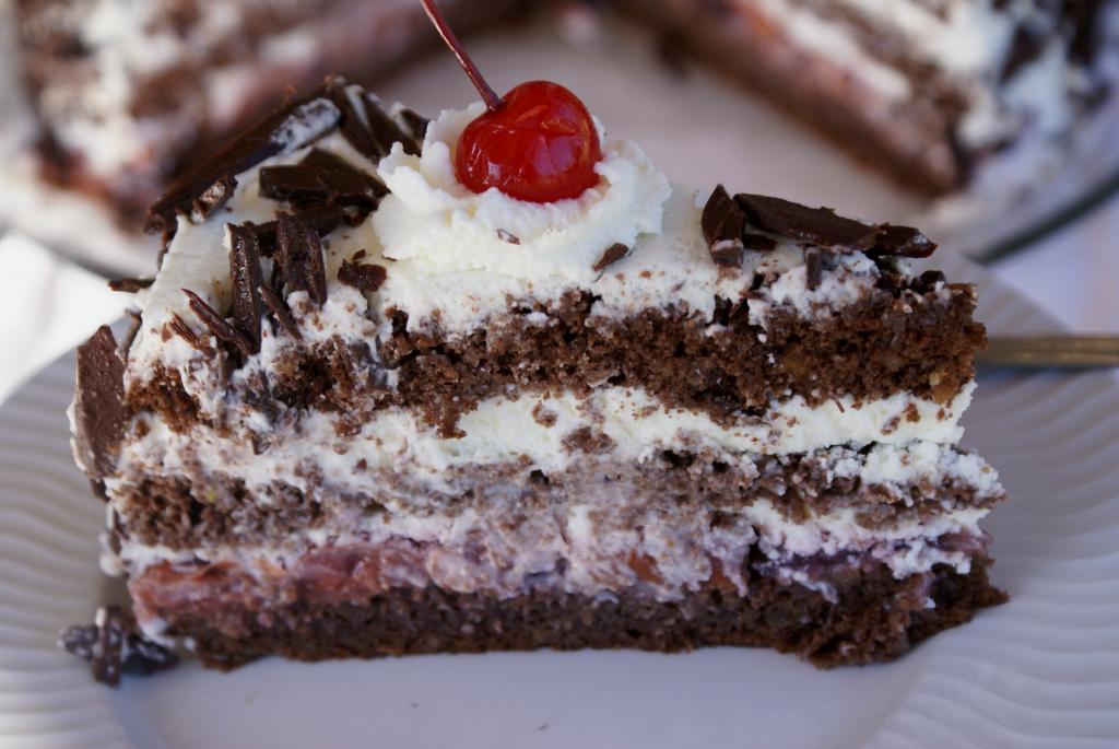 Торт черный лес пошаговый рецепт с фото