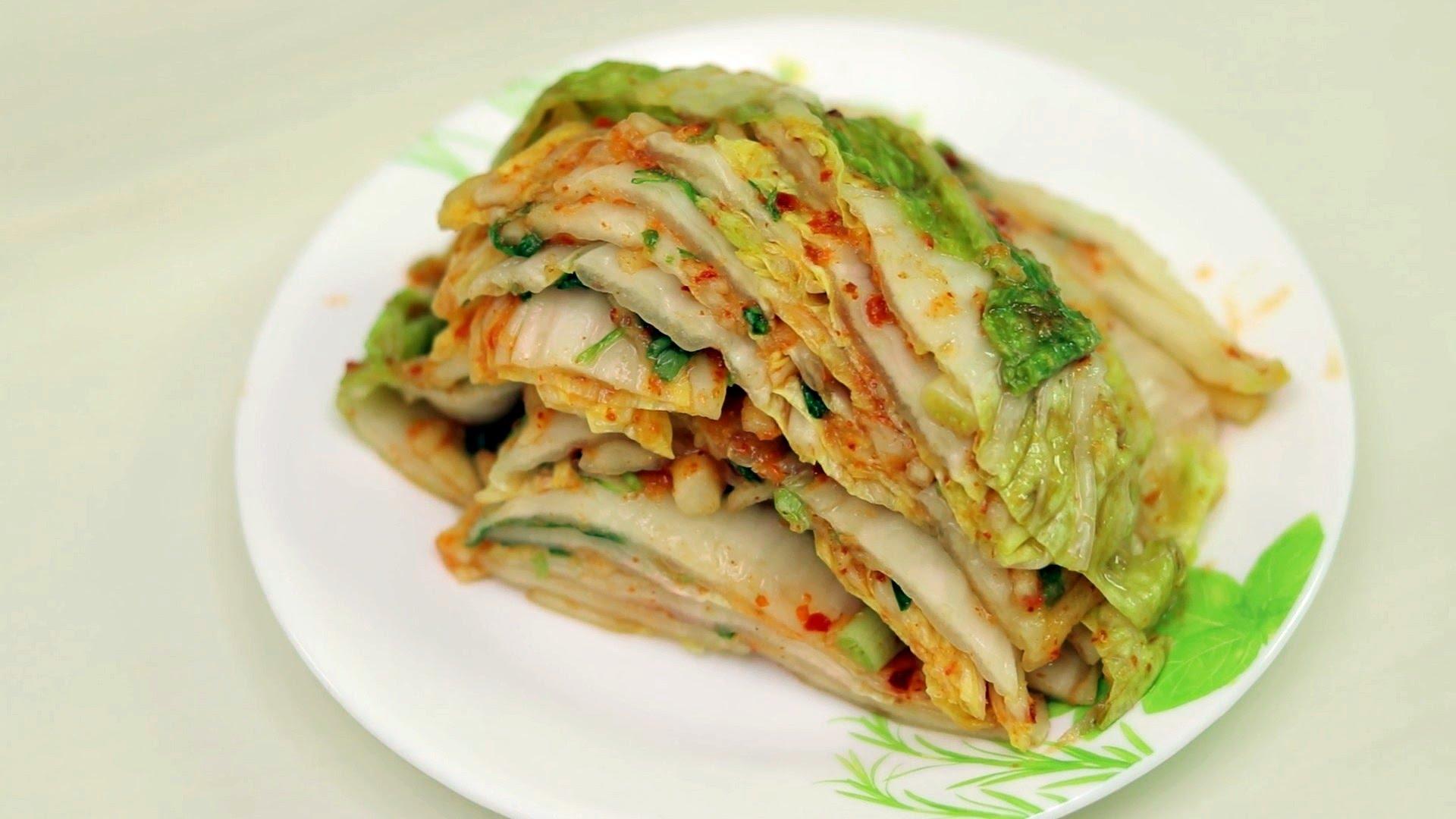 Кимчи из пекинской капусты по-корейски