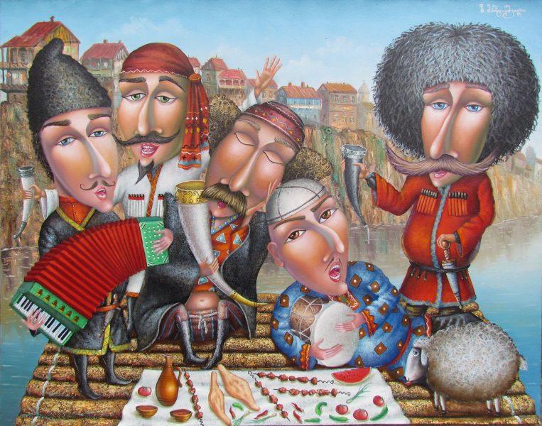 Изображение - Прикольный тост на день рождения женщине короткие 1385115505-zastole-po-gruzinski-763x600