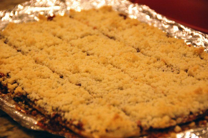 пирог из крошки печенья рецепт с фото своем