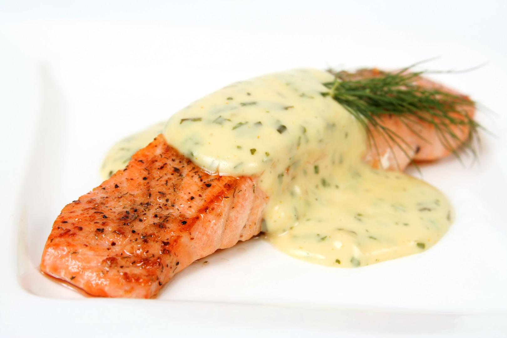 рыба под белым соусом рецепт с фото началом