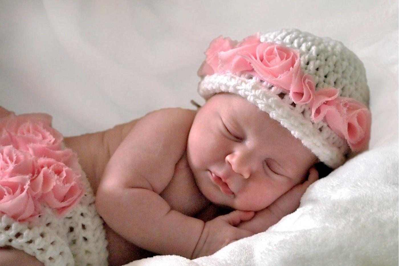 Фото открытки с новорожденной