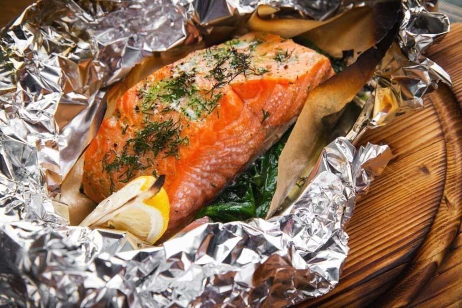 Рецепт рыба нерка запеченная в духовке #2