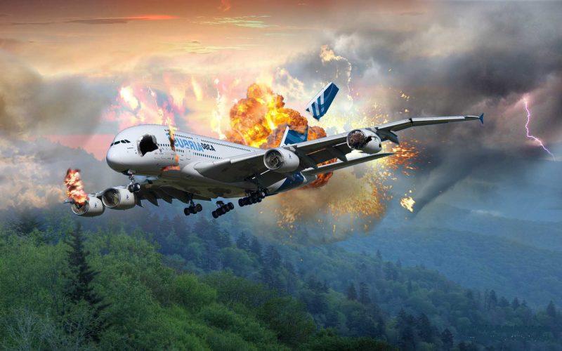 Сонник миллера упал самолет