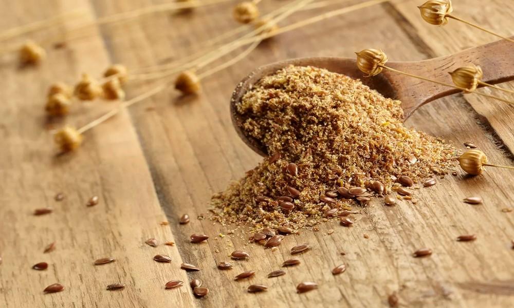 Мука из семян льна для очищения организма