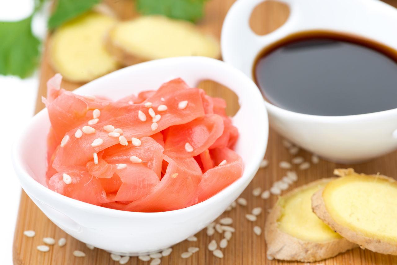 Как правильно замариновать имбирь для суши?