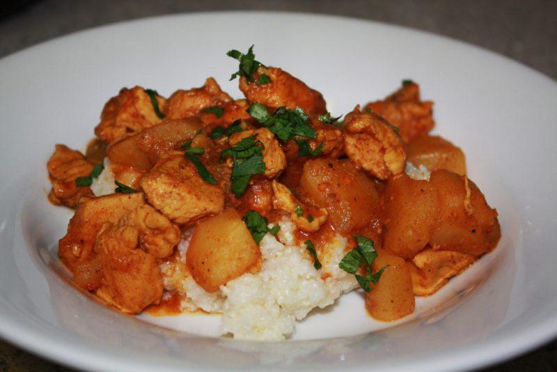 Курица карри рецепт с фото по индийски