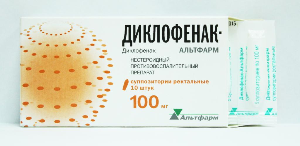 Свечи диклофенак: применение в гинекологии