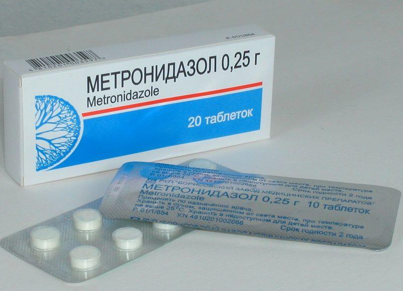 Метронидазол таблетки в гинекологии: инструкция по применению