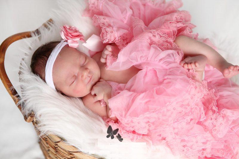 Картинка новорожденной девочке, открытки