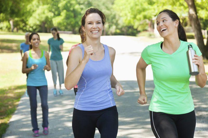 Бег и диета для интенсивного похудения
