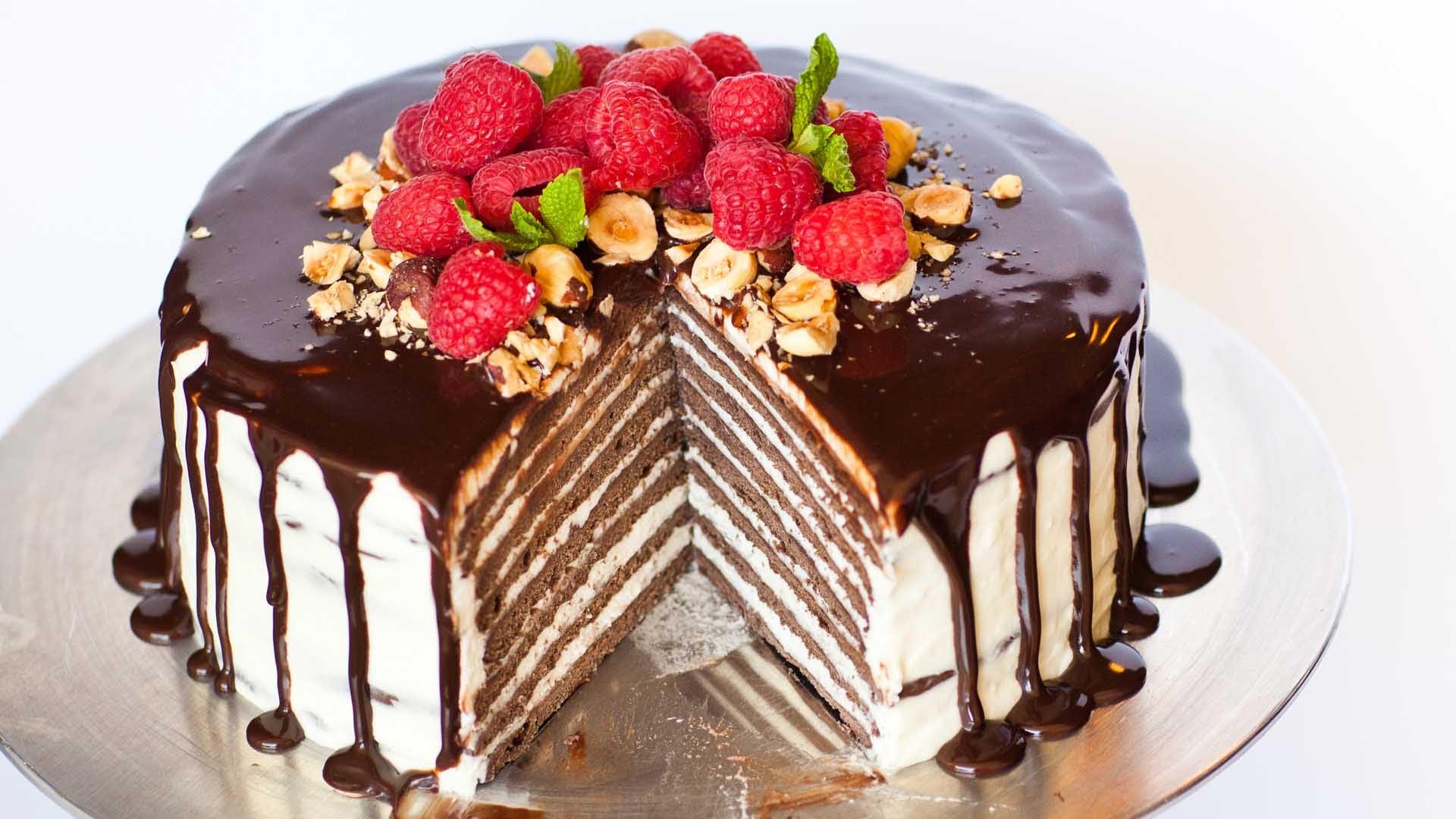 торт на день рождения рецепты с фото думала каким