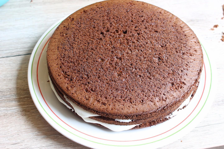 основной воздушный бисквитный торт рецепт с фото книга