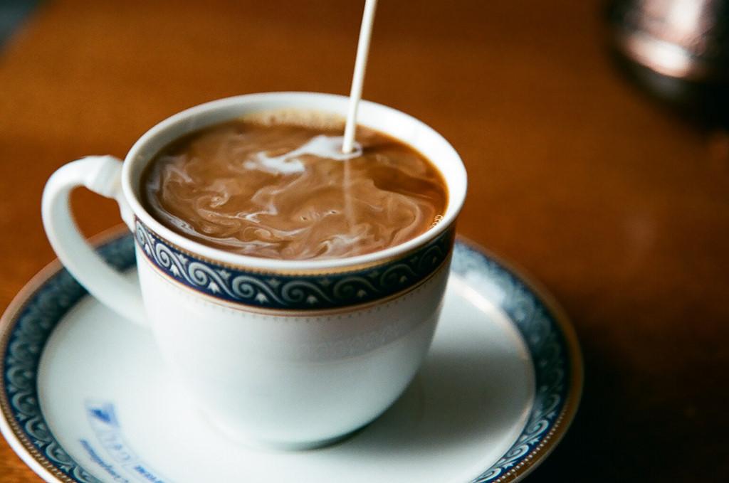 Сад дню, открытки кофе со сливками