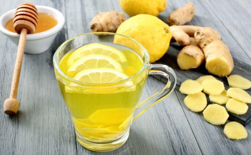 Напиток здоровья - имбирный лимонад