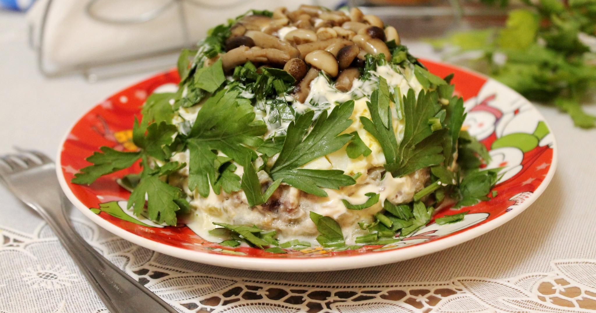 рецепт салата грибная поляна пошагово с фото отделки потолка
