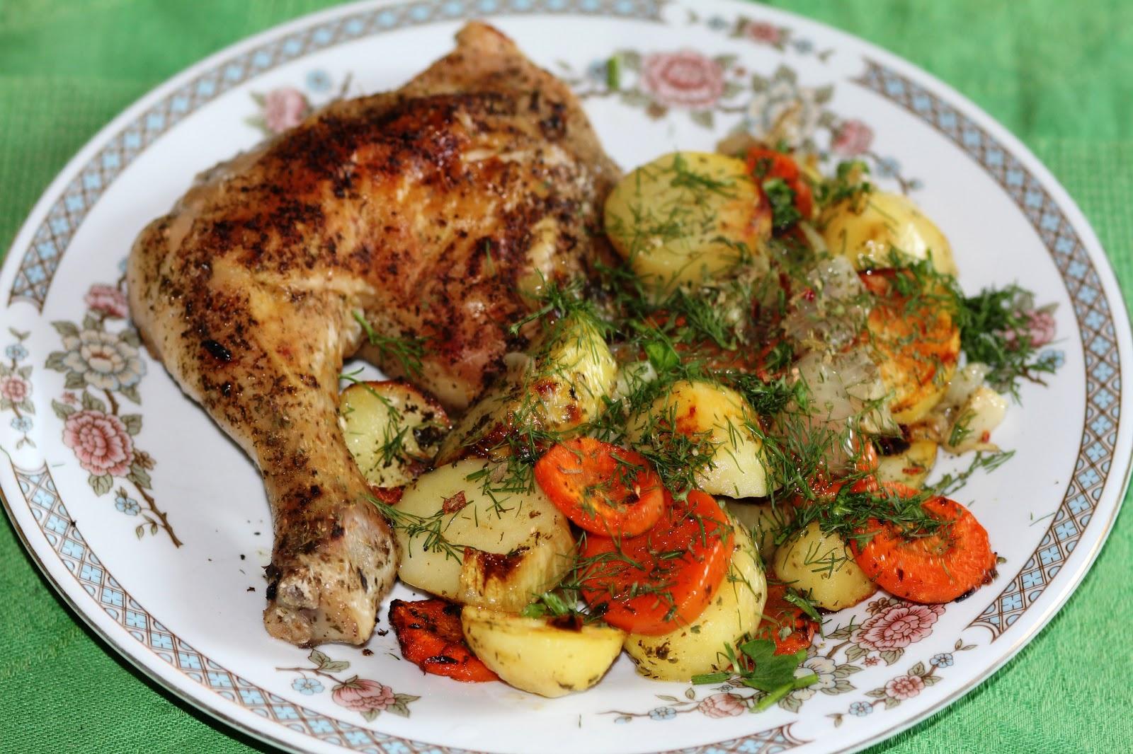 Курица С Картошкой Диета 5