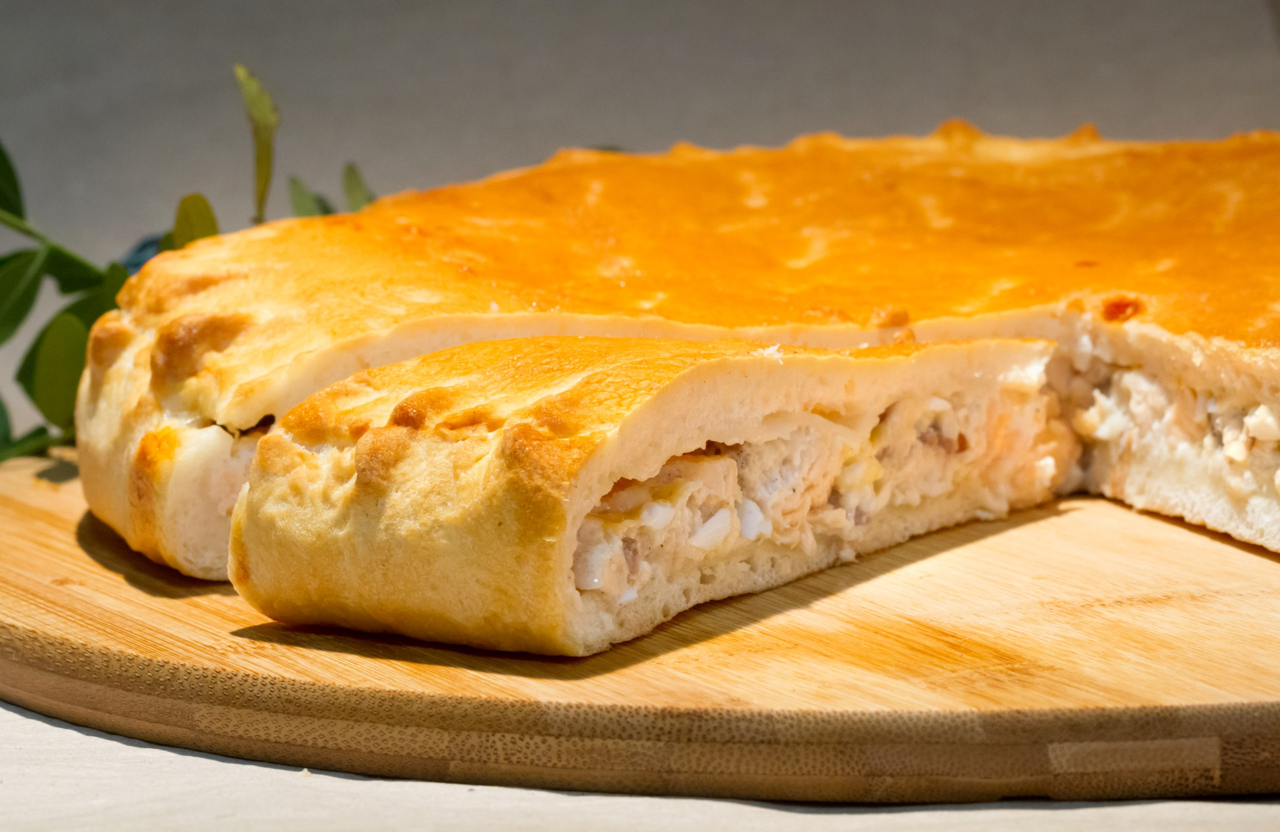 открытый рыбный пирог рецепт с фото