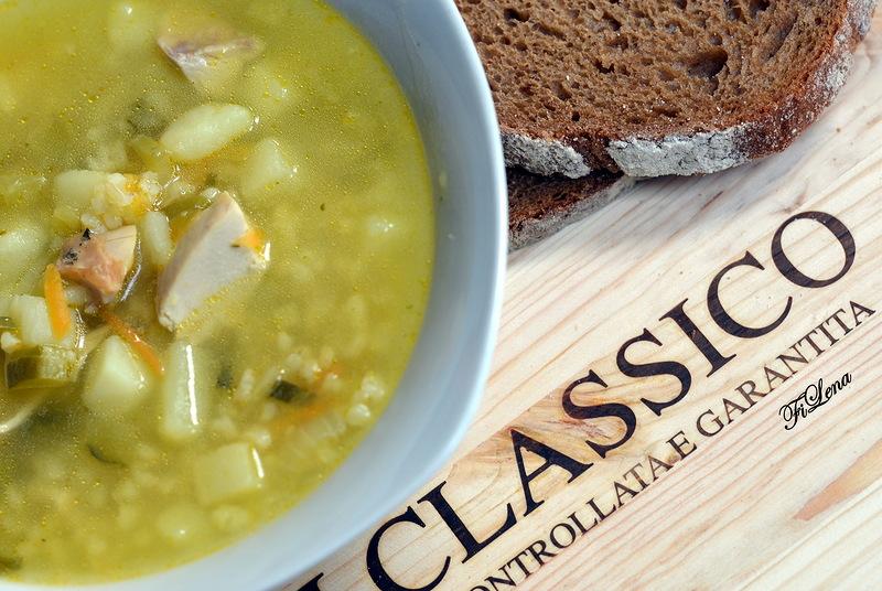 Приготовить суп огурец соленый рецепт фото