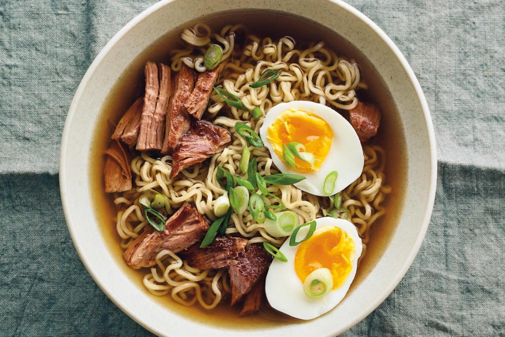 Японский суп рамен - классический рецепт приготовления  фото