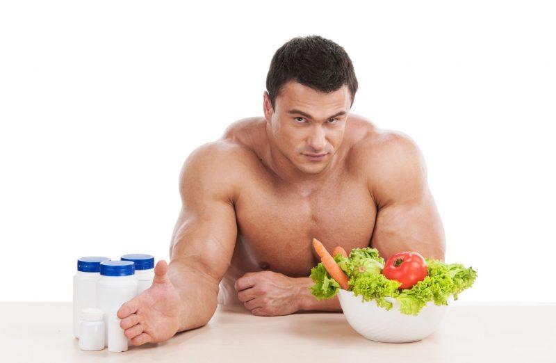 Мужское тело диета