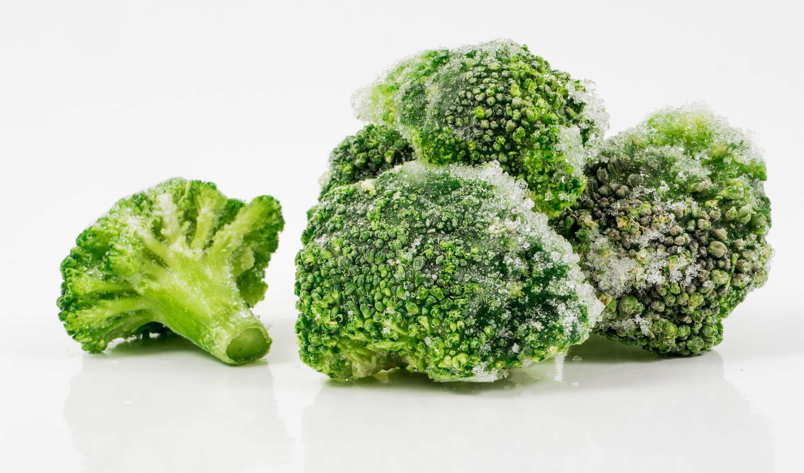 Как отваривать замороженную брокколи