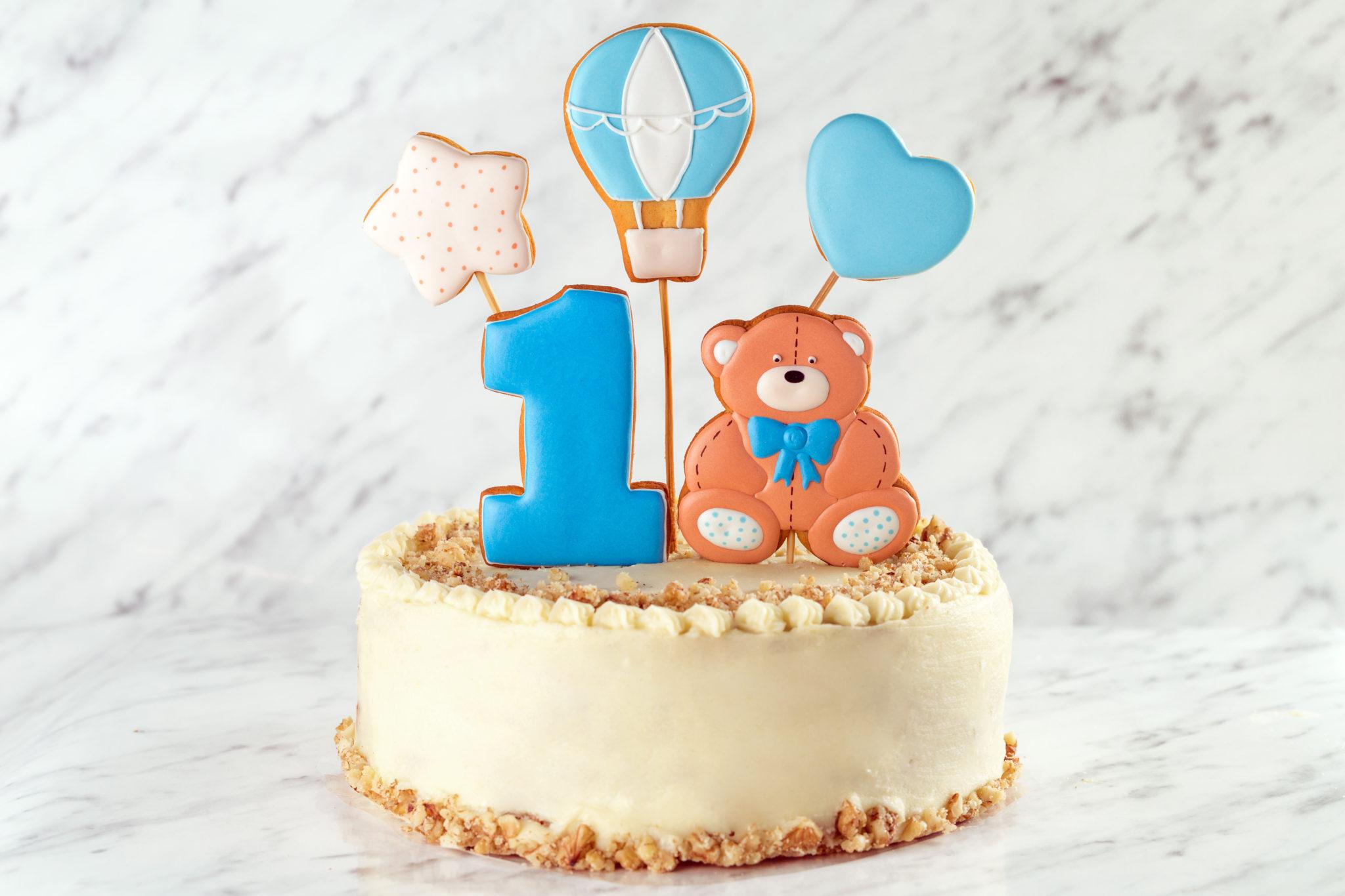 картинка для торта на годик