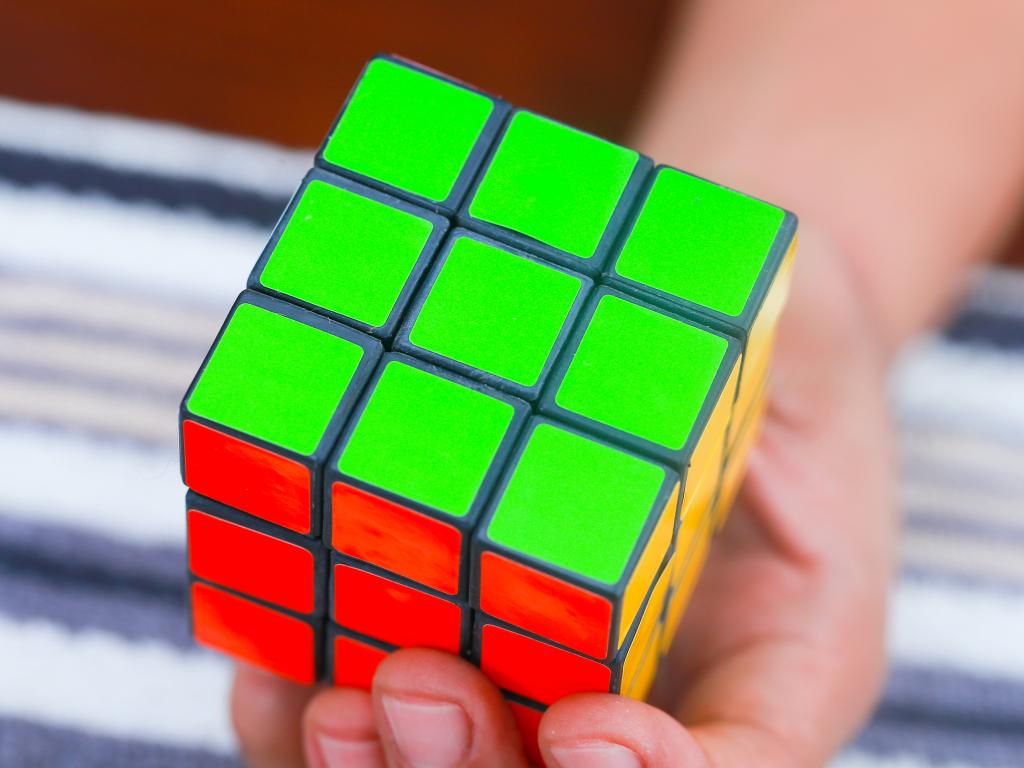 секрет кубика рубика в картинках между ними ничего