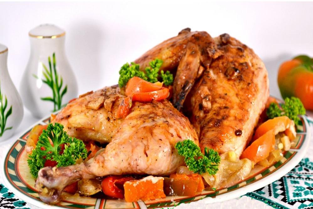 Картинка курицы в соусе
