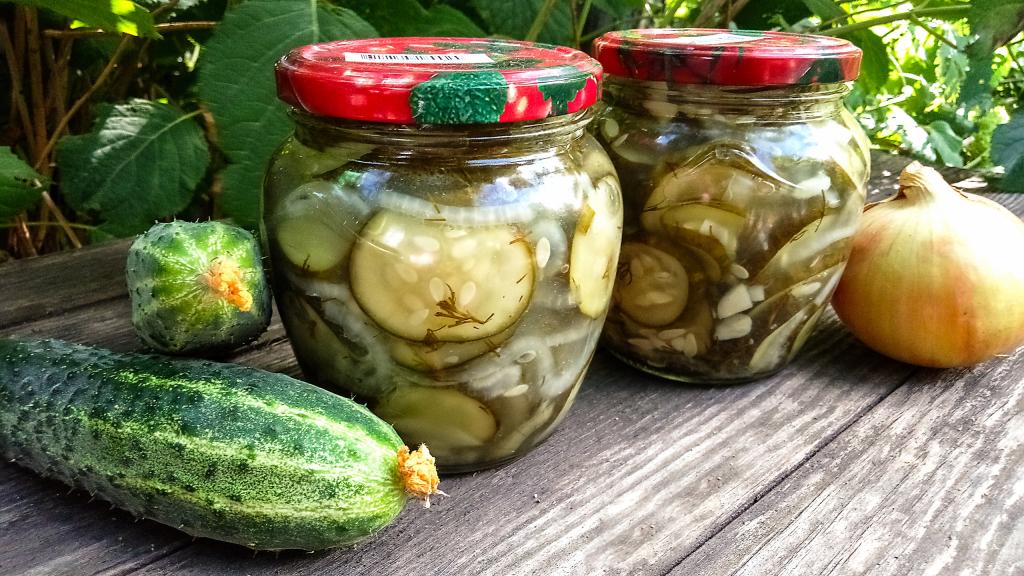 ищете прозрачные салат из огурцов на зиму с фото общем