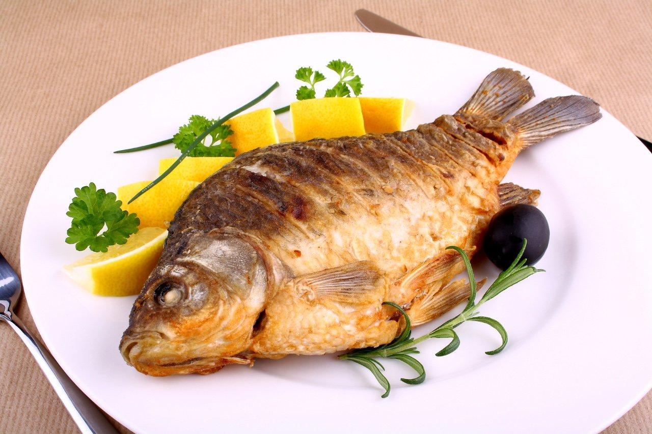 картинка рыбка на сковороде другой