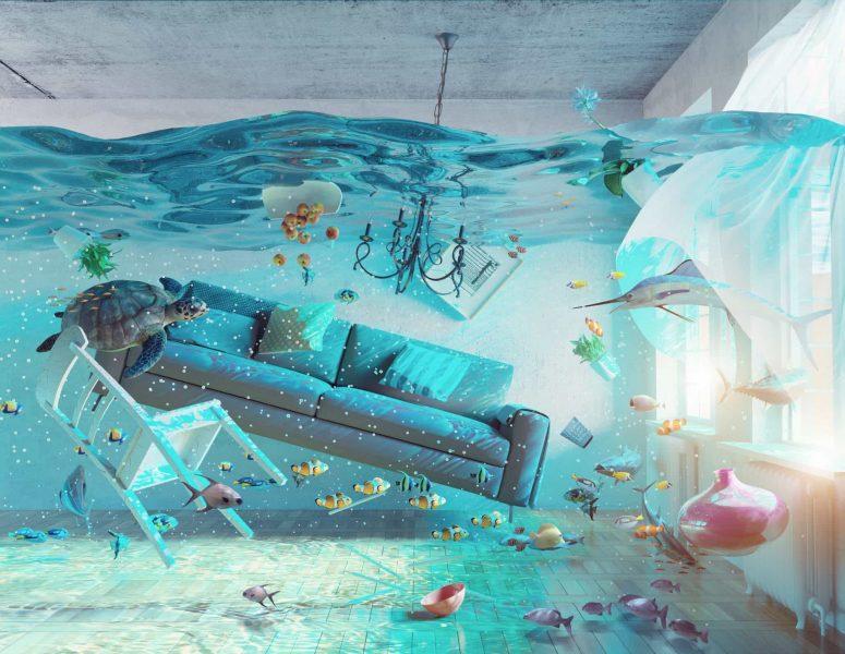 сонник потоп в квартире в ванной комнате