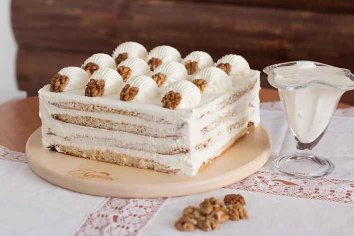 Торт «Пломбир» – 6 очень вкусных рецептов нежнейшего торта