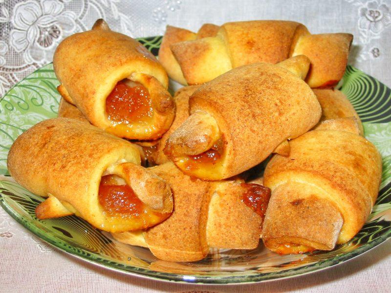 Рогалики из творога - 7 рецептов очень вкусной выпечки