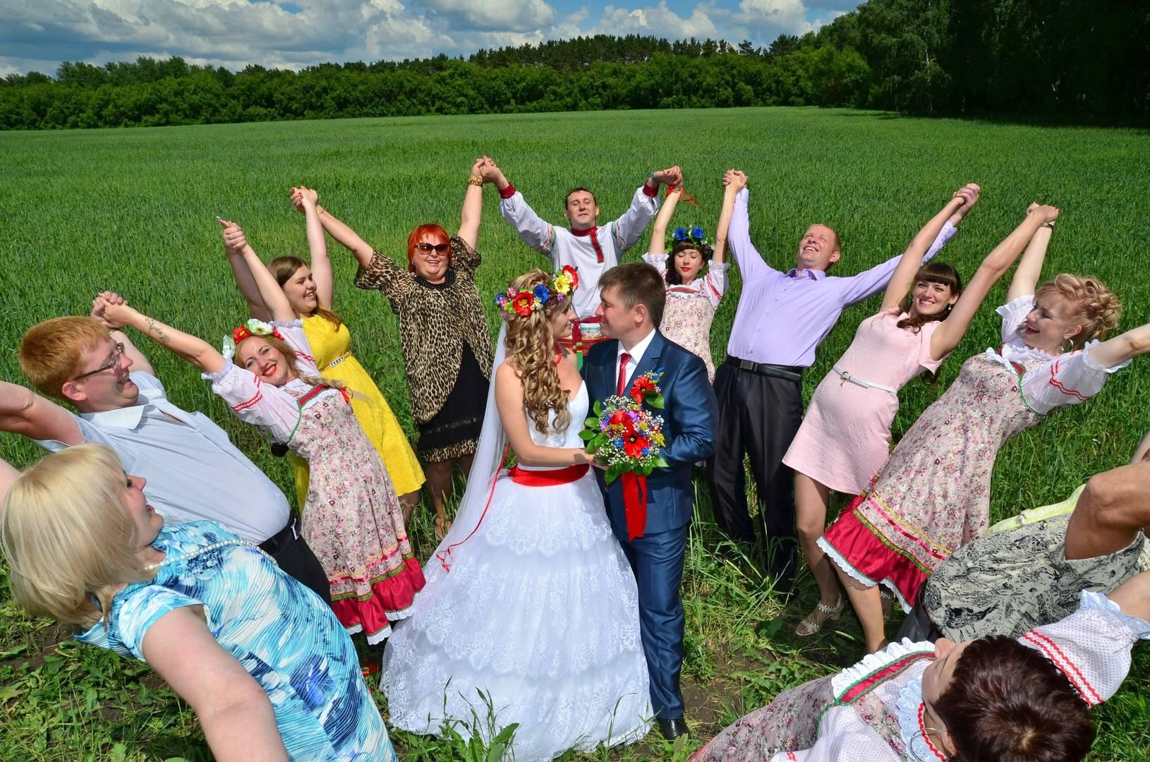 фото русских свадеб роу заявила