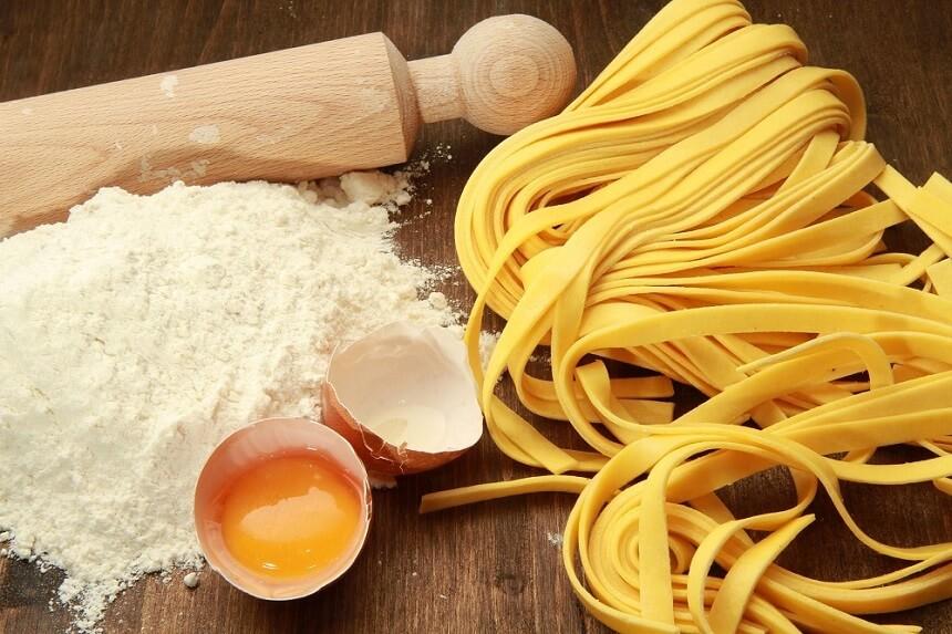 Сделать домашнюю лапшу тесто для супа