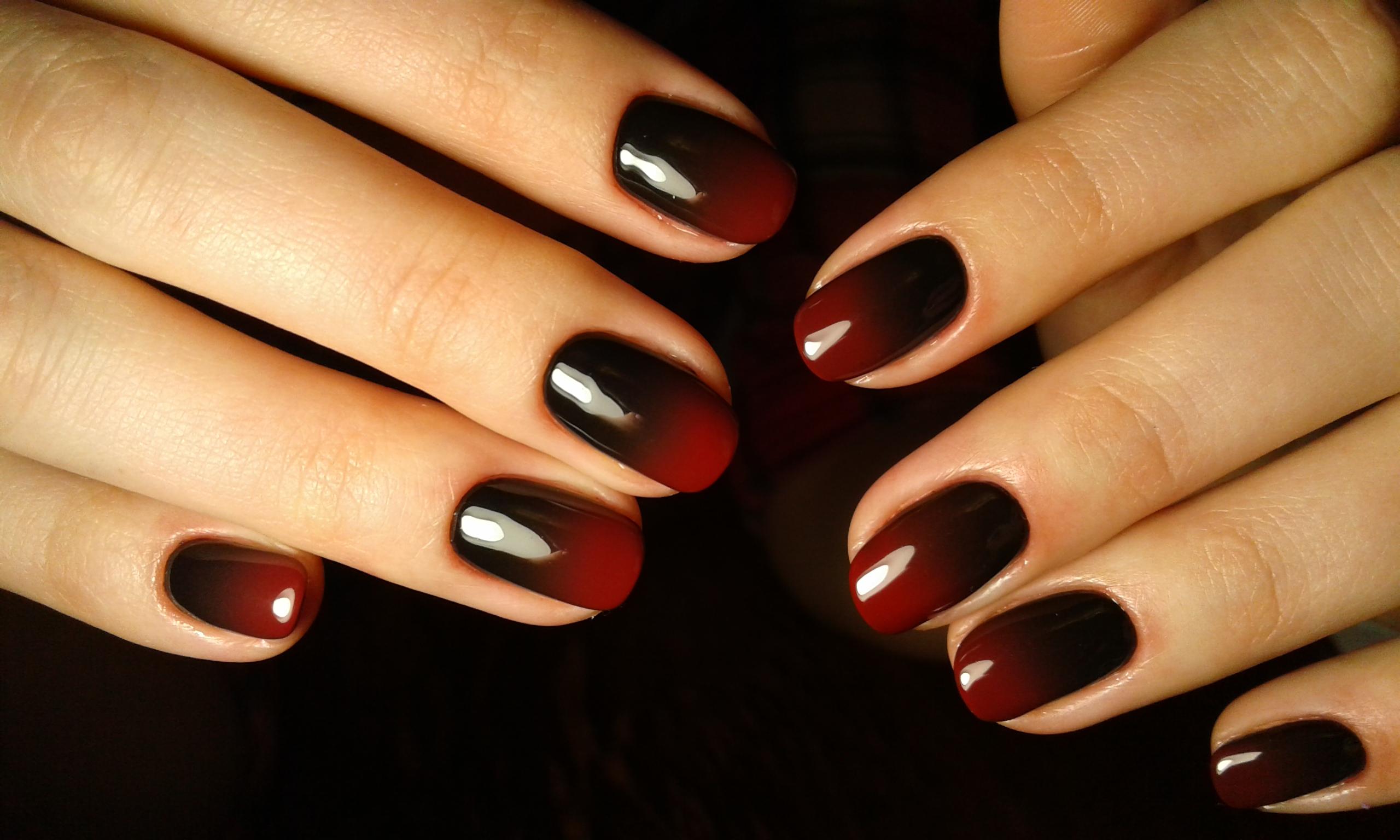 Дизайн ногтей омбре: красивые и модные варианты с фото ...