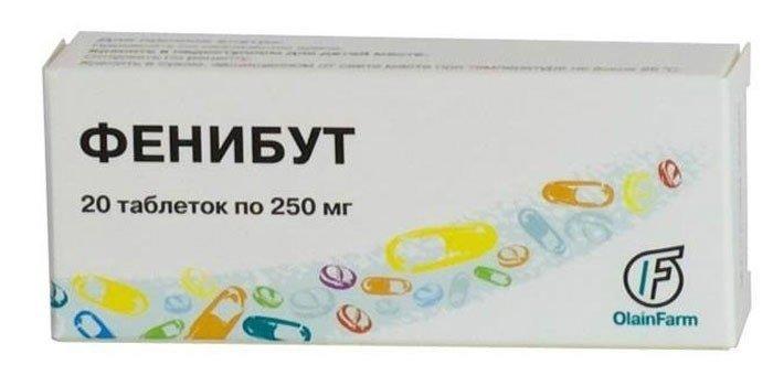 Таблетки Фенибут: инструкция по применению взрослым и детям, состав, аналоги ноотропного средства