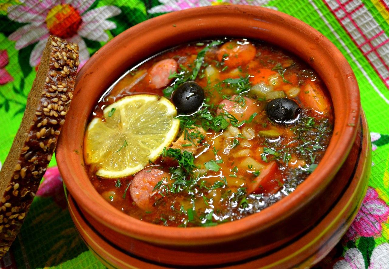 Ингредиенты для солянки и 8 рецептов, как приготовить суп солянку