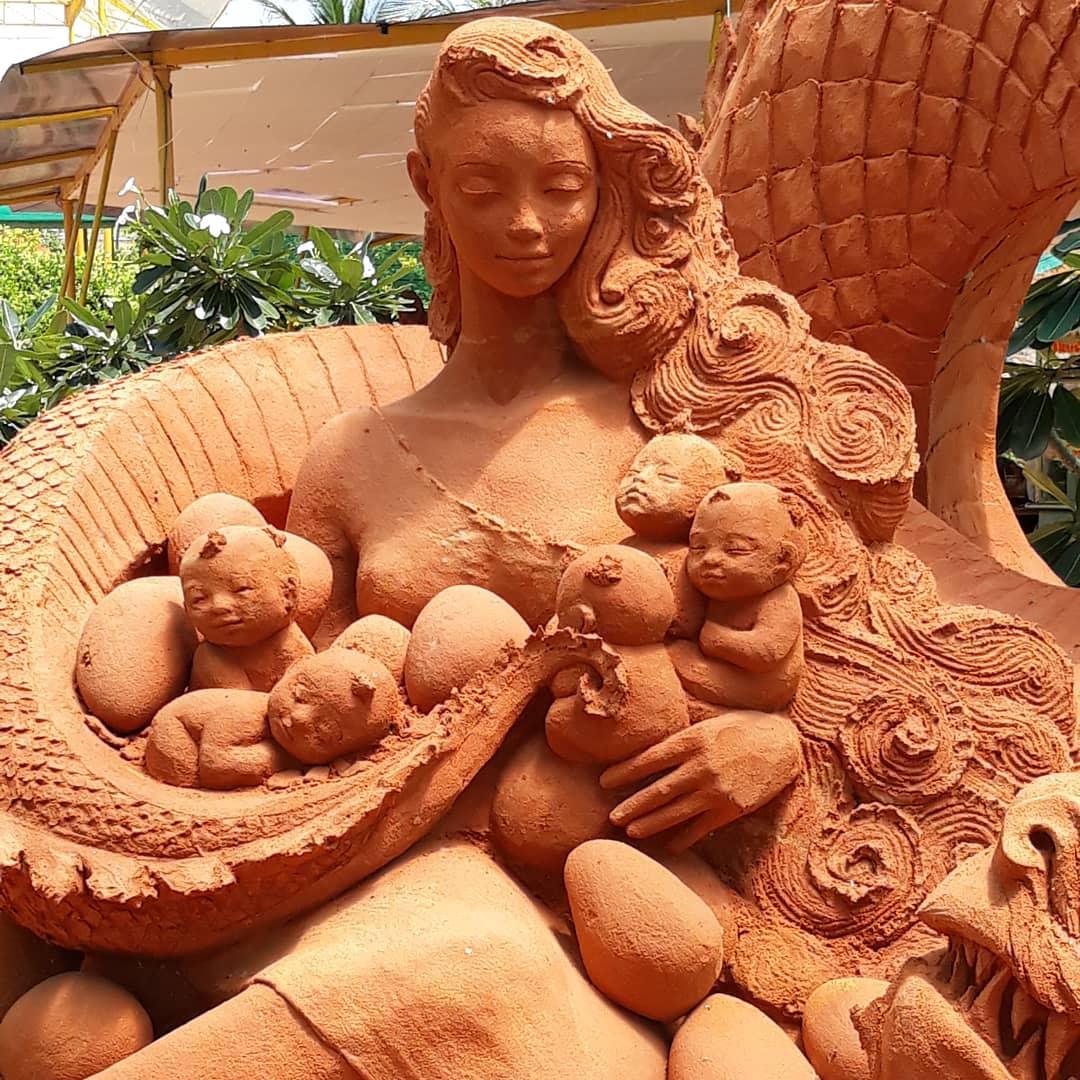 Коллекция песочных скульптур