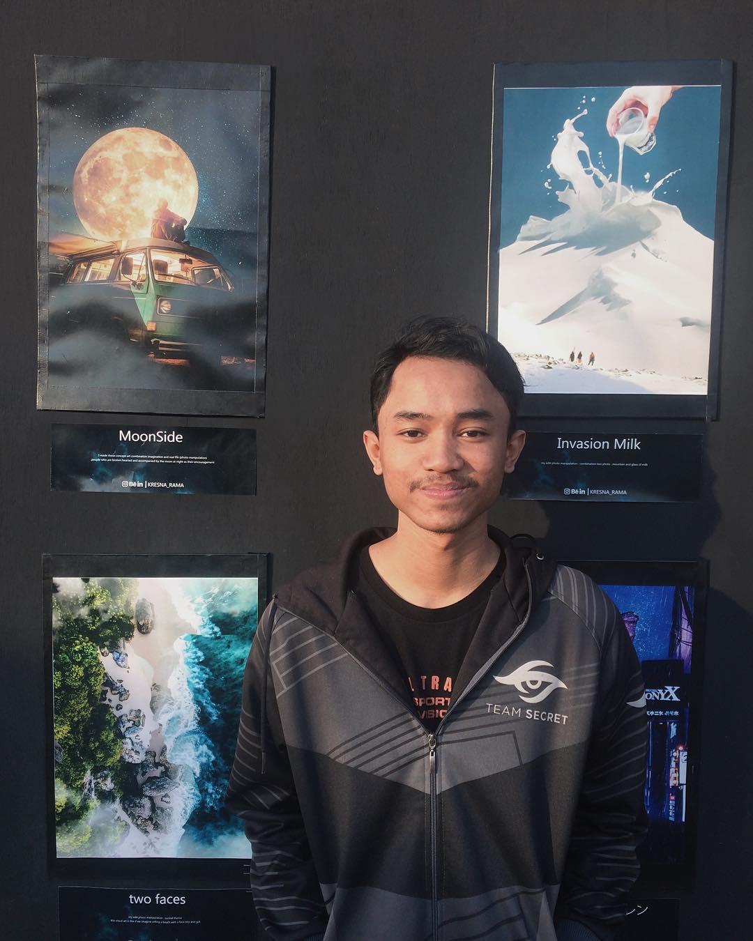 Индонезиец создает нереальные миры за пределами восприятия