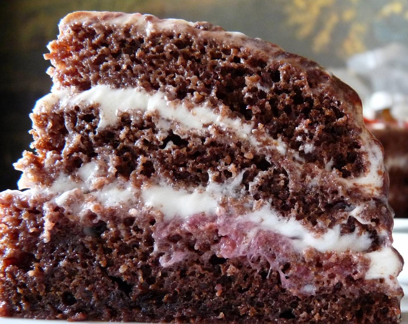 Рецепт торта на сметане с фото большой