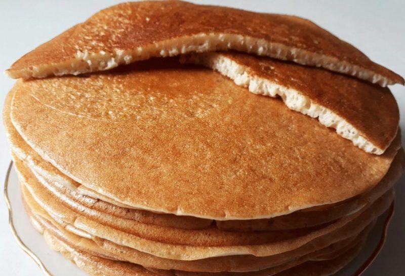 Блины на кефире без яиц - 6 пошаговых рецептов, как приготовить тонкие или толстые блины