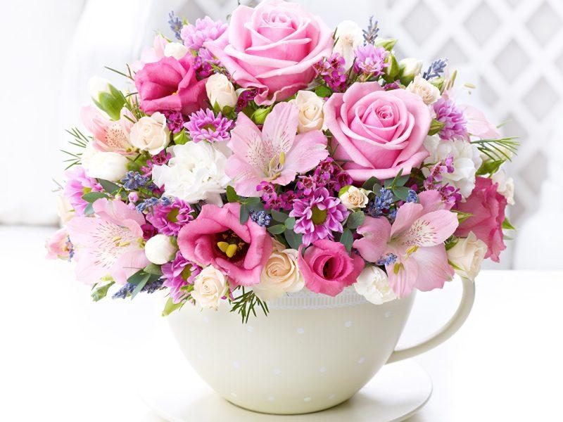 поздравления на день рождения фото цветы запечатлено какое-то