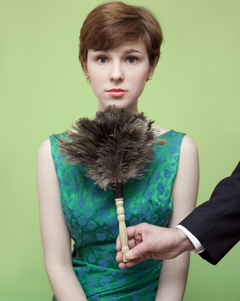 """Я нарушаю закон"" фото проект Оливии Лочер"